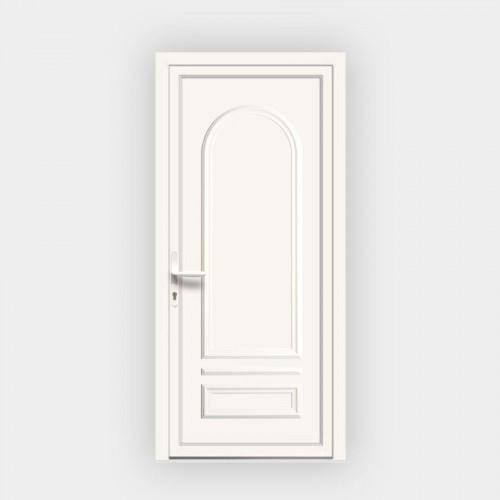 Porte d'entrée en PVC Ixelia