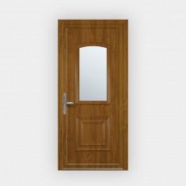 Porte d'entrée en PVC Granala vitrée