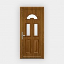 Porte d'entrée en PVC Emilia vitrée