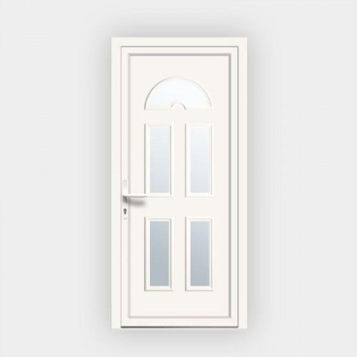 Porte d'entrée en PVC Eva 15 vitrée