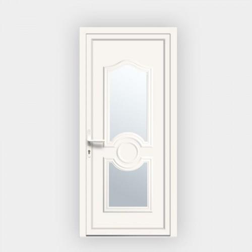 Porte d'entrée en PVC Celia 7 vitrée