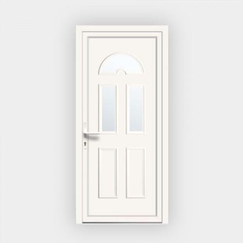 Porte d'entrée en PVC Eva 14 vitrée