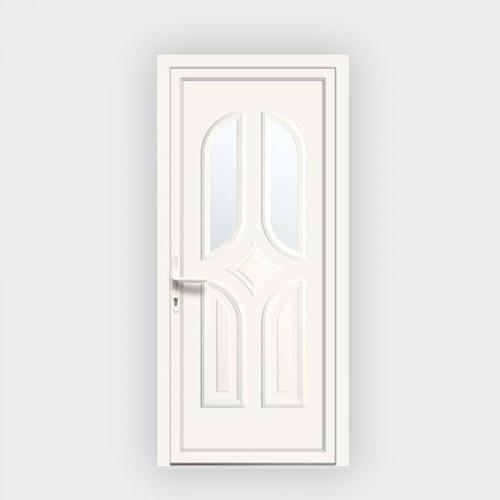 Porte d'entrée en PVC Samba 125 vitrée
