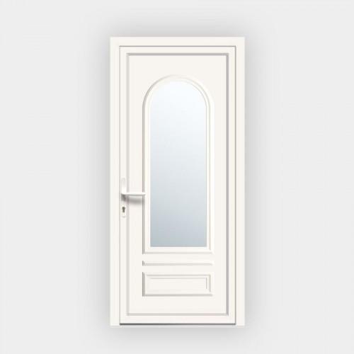 Porte d'entrée en PVC Ixelia 81 vitrée