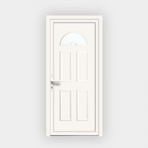 Porte d'entrée en PVC Eva 13 vitrée