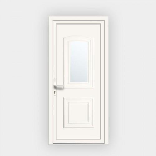Porte d'entrée en PVC Granada 17L vitrée
