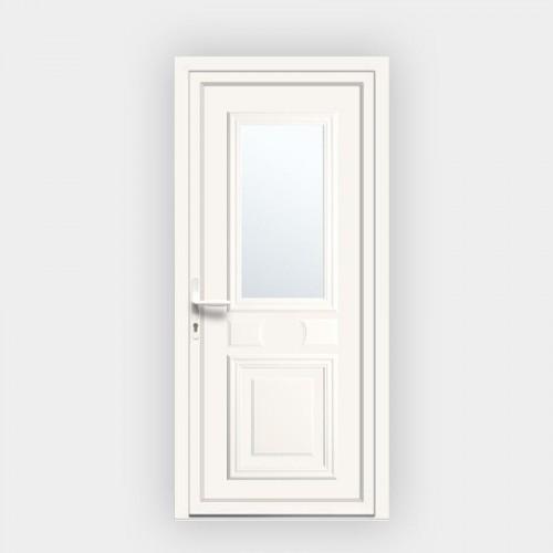 Porte d'entrée en PVC Provencia vitrée