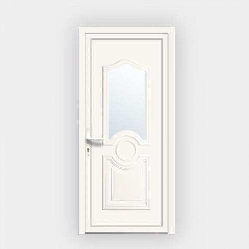 Porte d'entrée en PVC Celia 6 vitrée