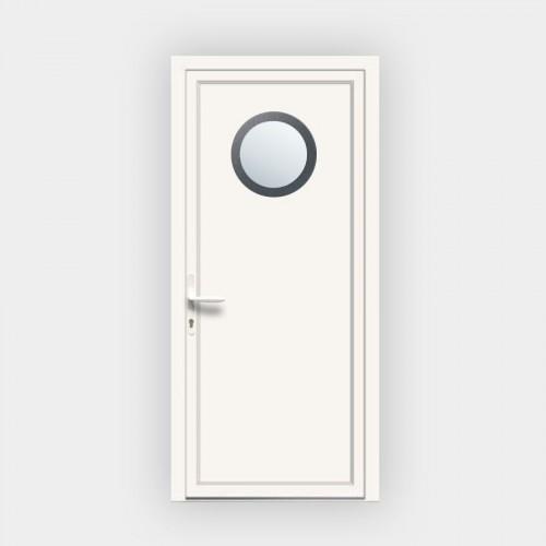 Porte d'entrée en PVC 415 vitrée