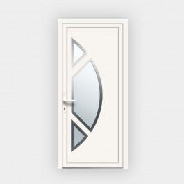 Porte d'entrée en PVC 4864 vitrée