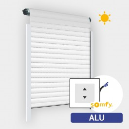 Volet Roulant Solaire Alu Traditionnel (moteur Somfy)
