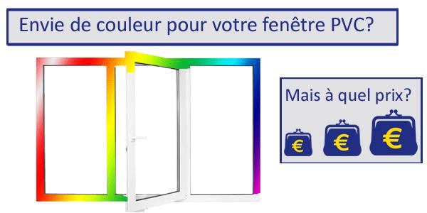 Nous vous indiquons comment acheter une fenêtre PVC avec couleur au meilleur prix!
