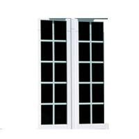 Présence de petits bois sur une fenêtre 2 ouvrants