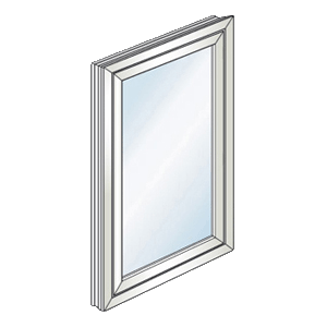 Fenêtre fixe chez Gefradis