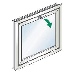 Choisissez votre fenêtre à souflet chez Gefradis