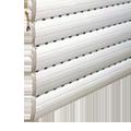 Exemple d'un tablier avec lames ajourées