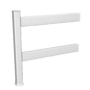 Notre clôture horizontale lisse de 95 cm de haut