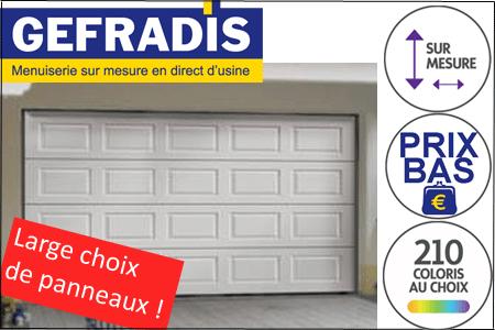 Porte De Garage Sectionnelle Automatique Télecommandée - Porte de garage sectionnelle avec panneau de porte pvc