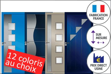 Portes Du0027entrée PVC En Couleurs Sur Mesure Et à Prix Du0027usine