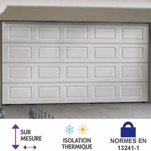 Sécurisez votre garage avec une porte sectionnelle