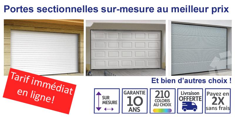 √ Porte De Garage Sectionnelle Sur Mesure