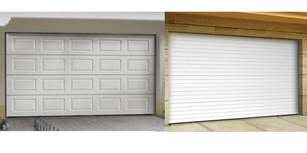 Une large gamme de portes de garage sectionnelles