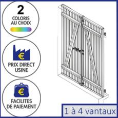 Volet Battant Pvc Sur Mesure Fabrique En France A Prix Direct Usine