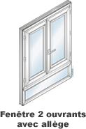 Allège de fenêtre